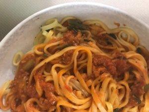 日清担々麺野菜
