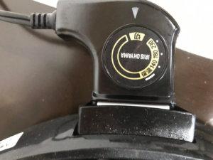 アイリスオーヤマIHP-C320-B温度