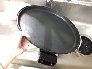 アイリスオーヤマIHP-C320-B洗う様子