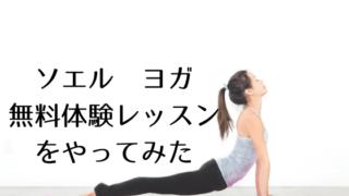 ソエルヨガ無料体験レッスン