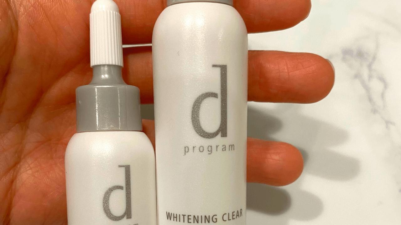 dプログラムホワイトニングクリア